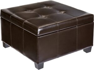 First Hill Damara Square-Shaped Large Ottoman Top Coffee Table