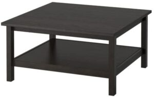 Ikea Coffee table, black-brown 424.23208.3810