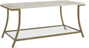 Novogratz Cecilia Marble Coffee Table