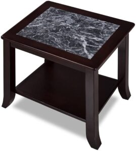 Olee Sleep Dark Emperador Natural Marble Top