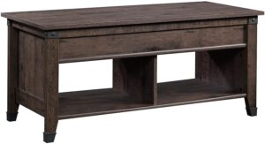 Sauder Carson Forge Lift-Top Storage Coffee Table