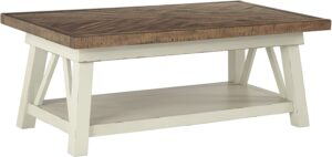 Signature Design by Ashley - Stowbranner Farmhouse Coffee Table