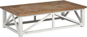 Stone & Beam Coastal Breeze Rustic Farmhouse Coffee Table