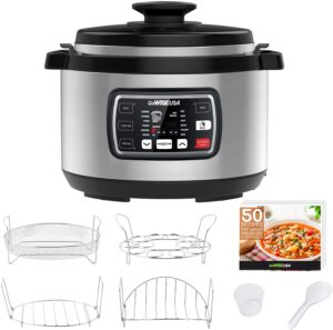 GoWISE USA GW22709 Electric Pressure Canner