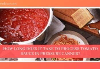 How Long Does It Take to Process Tomato Sauce in Pressure Canner?