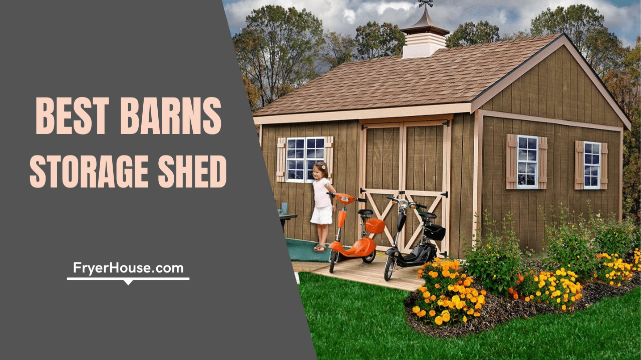 Best Barns Storage Shed