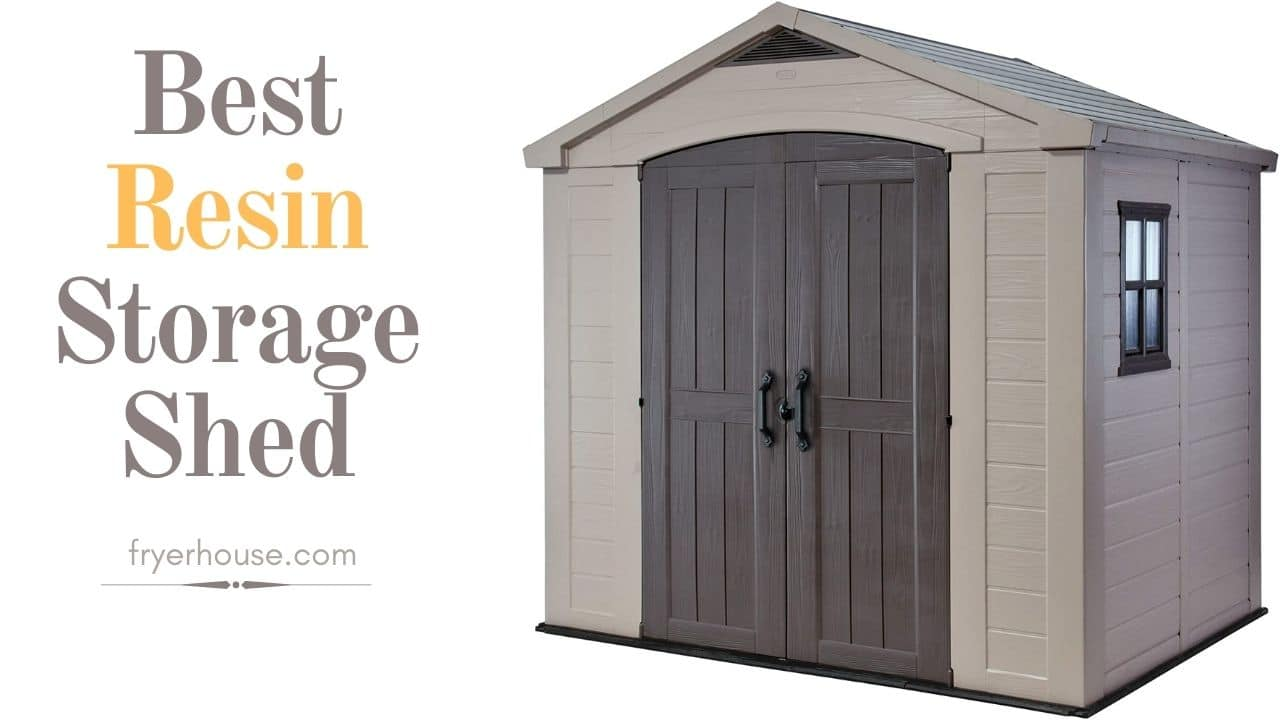 Best Resin Storage Shed